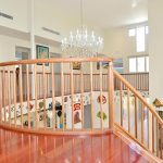 Curved Balcont Round rail , postsand balusters Mike Murry Agnus Water
